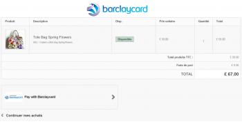 Infobia Barclaycard Paiement