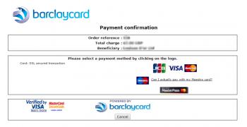 Infobia Barclaycard payment|Prestashop module