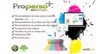 Module personnalisation produit prestashop - Infobia ProPerso+