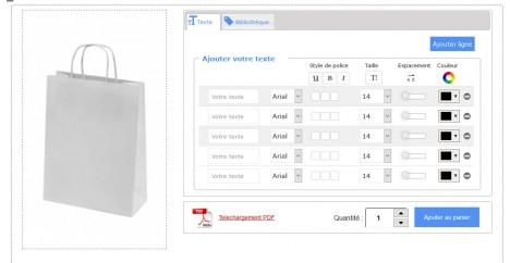 Module de personnalisation de produits prestashop