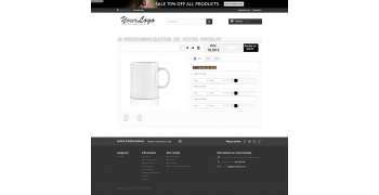 Module de personnalisation prestashop - Infobia ProPerso V5